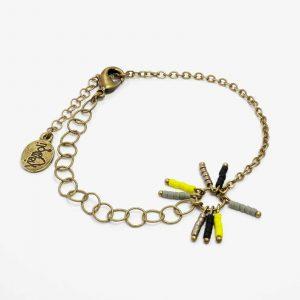 Bracelet Aïda pompon