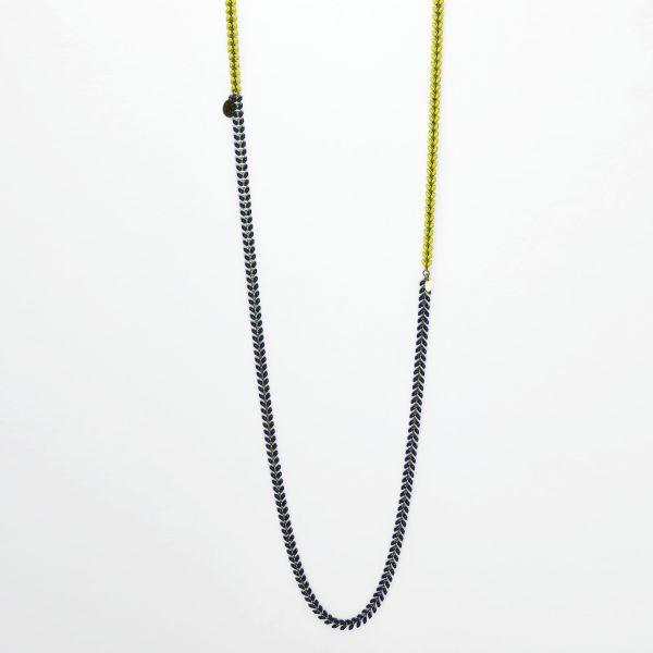 Sautoir Nourreda bicolore