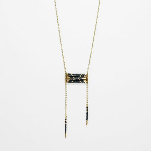 collier sioux or gris anthracite
