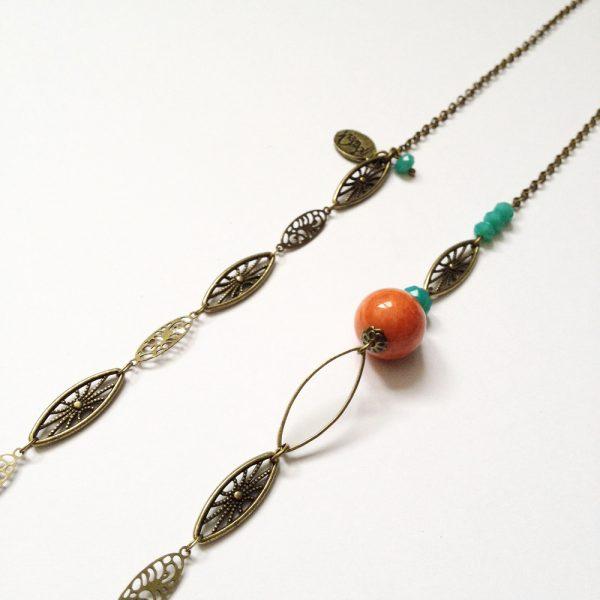 sautoir marcelle perlé detail