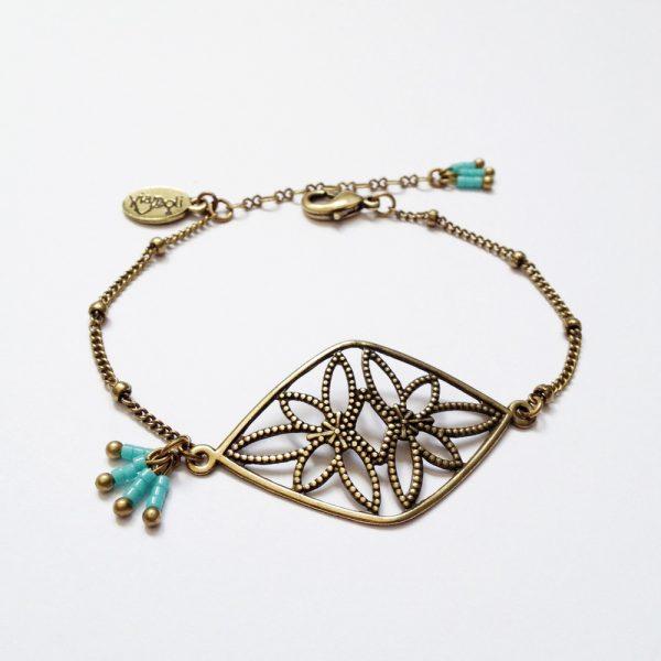bracelet nikiya turquoise