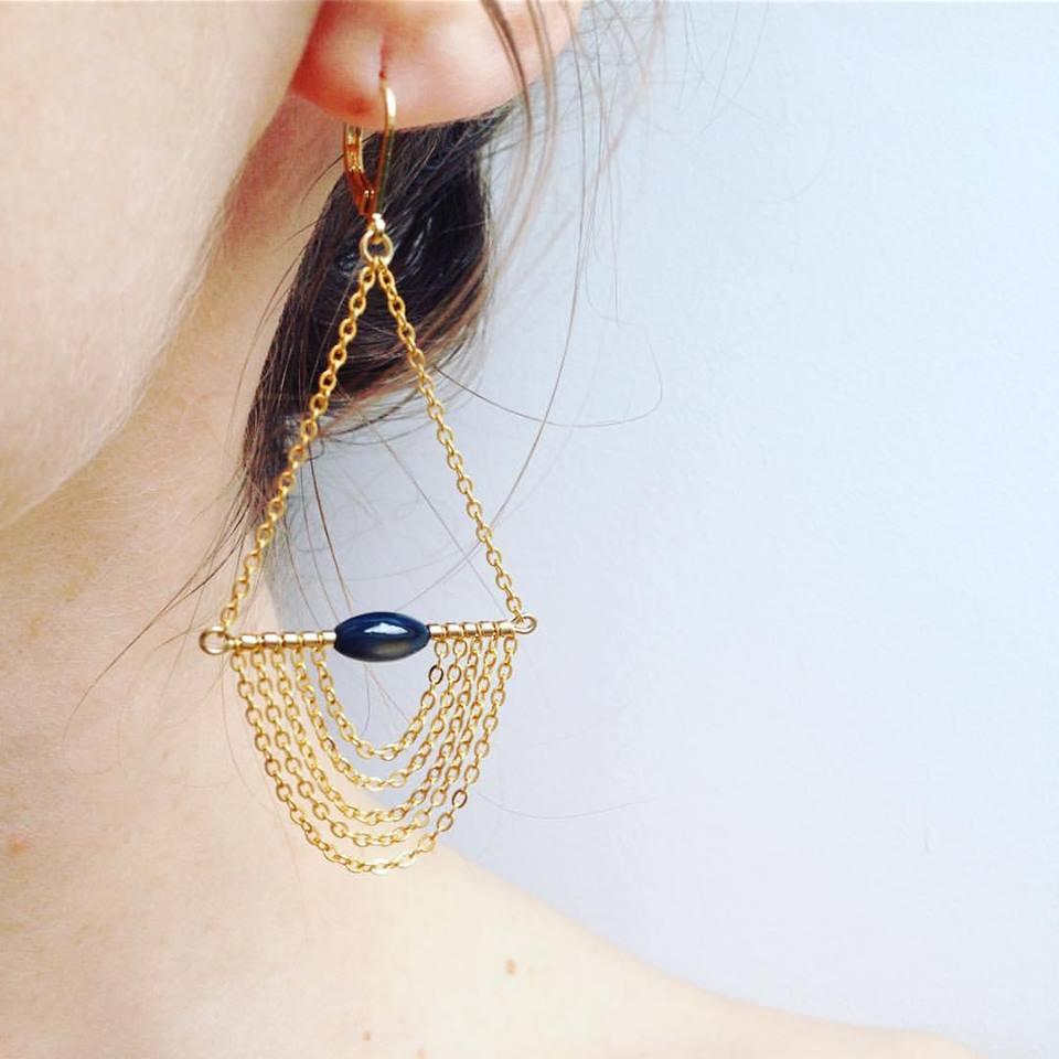 boucles d oreilles idole
