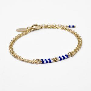 bracelet mariniere bleu