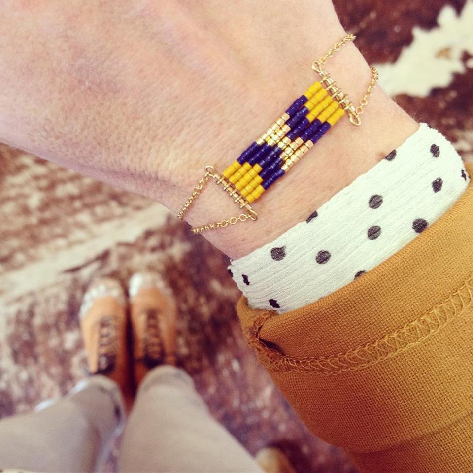 bracelet_cheyenne_or_moutarde_marine