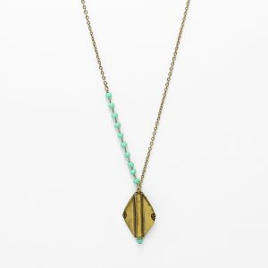 collier apache turquoise detail