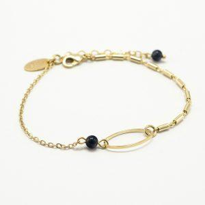 Bracelet Lune ovale