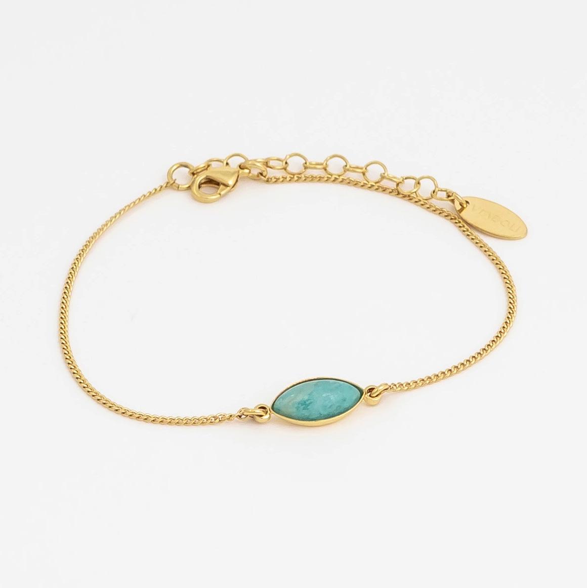 bracelet henriette amazonite
